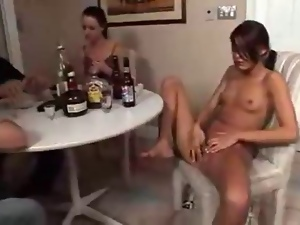 College, Group sex, Poker, Strip, Teens