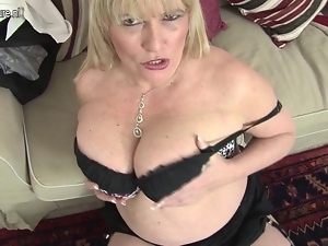 Amateur, Anal, British, Granny, Masturbating, Mature, Milf, Mother, Tits