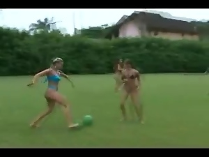 Ass, Big tits, Brazilian, Flashing, Football, Funny, Hidden cam