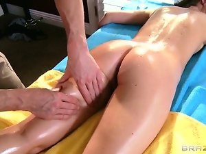 Blowjob, Boss, Brunettes, Hardcore, Massage