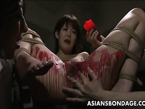 Asian, Babes, Bdsm, Cum covered, Japanese