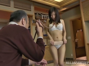 Asian, Bra, Cougar, Hardcore, Horny, Japanese, Milf, Old, Panties, Reality, Slave
