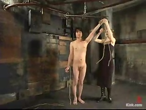 Basement, Bdsm, Blondes, Bondage, Femdom, Humiliation, Mom, Punish, Slave, Torture