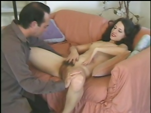 Brunettes, Couple, Fucking, Hairy, Hardcore, Licking, Natural boobs, Reality, Retro, Skinny, Snatch