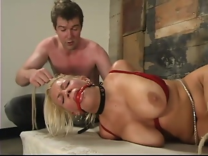 Basement, Bdsm, Blondes, Bondage, Boobs, Humiliation, Slave, Torture