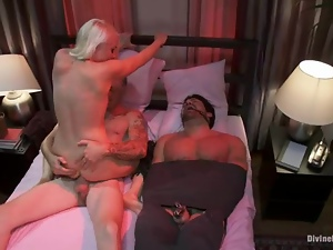 Adorable, Cuckold, Femdom, Fucking, Humiliation, Husband, Slave, Tied up, Torture