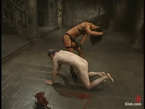 Asian, Bdsm, Doll, Femdom, Funny, Humiliation, Slave, Smoking, Spanking, Torture