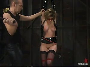 Bdsm, Fetish, Latex, Pussy, Spanking, Tied up, Torture, Wet