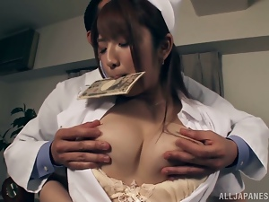 Asian, Brunettes, Couple, Dirty, Game, Hardcore, Japanese, Money, Nurse, Perverted, Uniform