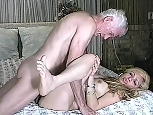 Blondes, Couple, Doggystyle, Hardcore, Missionary, Natural boobs, Old, Old and young, Reality