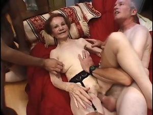 Granny, Mature, Mouthful, Pounded, Pussy, Skinny