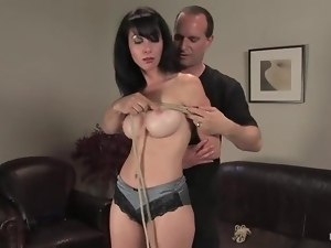 Babes, Big tits, Bondage, Brunettes, Casting, Couple, Fake tits, Funny, Hardcore, Nude, Panties, Reality