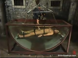 Bdsm, Bondage, Fetish, Petite, Prison, Punish, Security guard, Torture