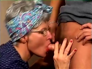 Bitch, Blowjob, Cougar, Couple, Fucking, Glasses, Hardcore, Mature, Milf