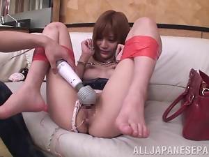 Anal, Asian, Beads, Couple, Doggystyle, Fucking, Hardcore, Japanese, Milf, Sex toys, Vibrator