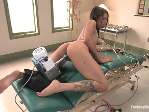Bdsm, Fetish, Fucking, Hospital, Machine sex, Sexy, Tease