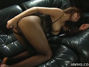 Asian, Big tits, Brunettes, Dick, Dirty, Fishnet, Japanese, Lingerie, Natural boobs, Sex toys, Teens, Uncensored