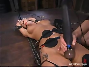 Adorable, Ass, Bdsm, Bondage, Dildo, Electrified, Femdom, Humiliation, Slave, Torture