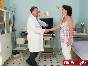 Amateur, Brunettes, Clinic, Couple, Gyno exam, Mature, Mature amateur, Reality, Uniform
