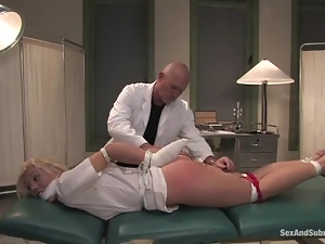 Bdsm, Blondes, Bondage, Bound, Doctor, Fetish, Nurse, Sexy, Spanking