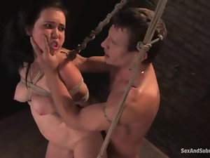 Basement, Bdsm, Bondage, Bound, Fucking