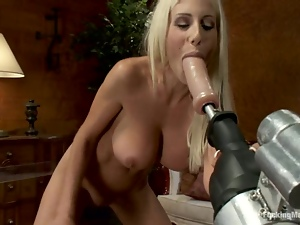 Amazing, Bdsm, Blondes, Fetish, Machine sex, Milf, Swedish
