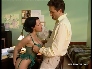 Babes, Big tits, Brunettes, Couple, Hardcore, Lingerie, Office, Reality, Story, Wild