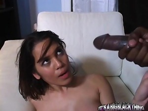 Babes, Bbc, Black, Brunettes, Couple, Dick, Hardcore, Interracial, Juicy, Monster, Surprise