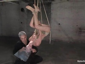 Basement, Bdsm, Bondage, Brunettes, Fetish, Slim, Torture