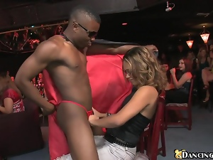 Babes, Black, Brunettes, Cfnm, Club, Couple, Handjob, Hardcore, Interracial, Party, Public, Reality, Sucking