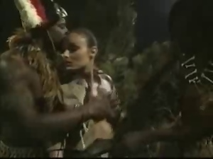 African, Anal, Double penetration, Group sex, Interracial, Penetrating