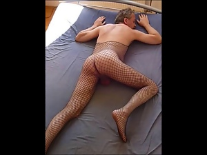 Amateur, Crossdressing, Gay, Handjob, Nylon, Public, Small cock