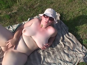 Amateur, Bbw, Exhibitionists, Fat, Hairy, Outdoor, Slut