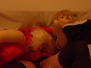 Crossdressing, Cum, Doll, Funny, Gay