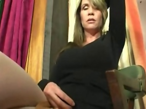 Jerk off instruction, Masturbating, Skirt