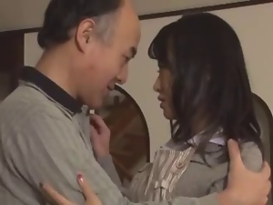 Asian, Blowjob, Dad girl, Fucking, Husband, Japanese