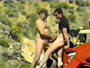 Bear, Gay, Hardcore, Old, Outdoor, Vintage