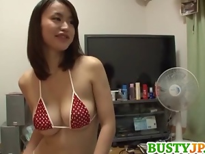 Asian, Big tits, Blowjob, Deepthroat, Japanese, Milf, Titjob