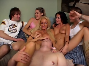 Dorm, Group sex, Teens