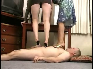 Femdom, Fetish, Foot fetish, High heels, Trampling