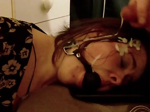 Amateur, Bdsm, Facials, Gagged, Girlfriend, Submissive