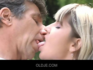 Dick, Old farts, Oral, Outdoor, Sucking