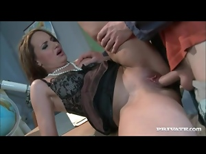 Doggystyle, Fucking, Hairless, Milf, Pussy, Shaved, Student, Teacher
