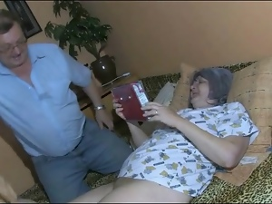 Bbw, Dildo, Granny, Masturbating, Watching