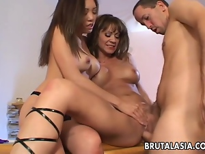 Asian, Ffm, Fucking, Japanese, Kinky, Slut, Threesome