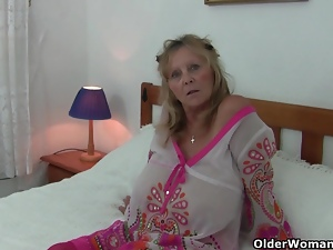 Clit, Grandma, Mature, Nipples, Old, Solo