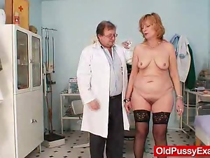 Clinic, Gaping hole, Gyno exam, Mature, Pussy, Redheads