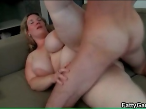 Big tits, Doggystyle, Fat, Fucking, On top