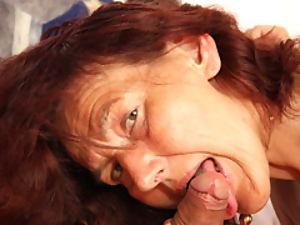 Dick, Granny, Hardcore, Mature, Redheads, Riding, Young