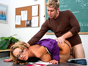 Babes, Big cock, Big tits, Blondes, Hardcore, Milf, Seduce, Teacher